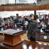 Blanca Carolina Escobedo Bretado, toma protesta como Diputada Local por el Verde